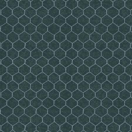 Windham Fabrics - Sunflower Market by Whistler Studios -  Chalkboard Chicken Wire