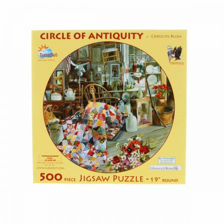 Circle Of Antiquity 500pc Puzzle