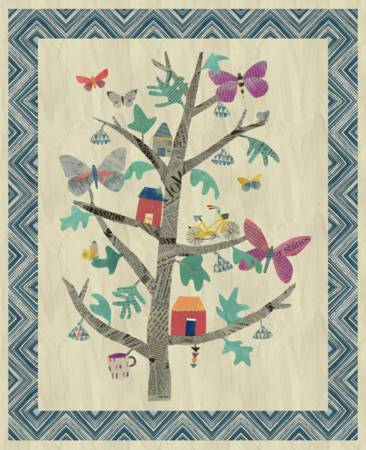 Carrie Bloomston - Tree of Wonder Panel (44in x 54in)