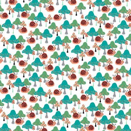 Owl's Woodland Adventure Multi Mushrooms & Snails