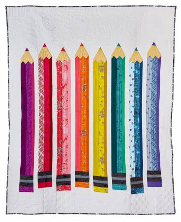 Pencil Club President Quilt Kit by Heather Givens / Crimson Tate for Windham Fabrics