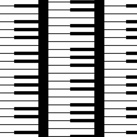 Opus White Piano Keys