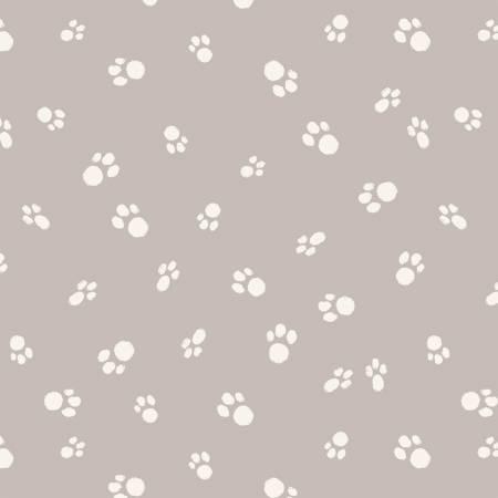 Grey Cat Paws