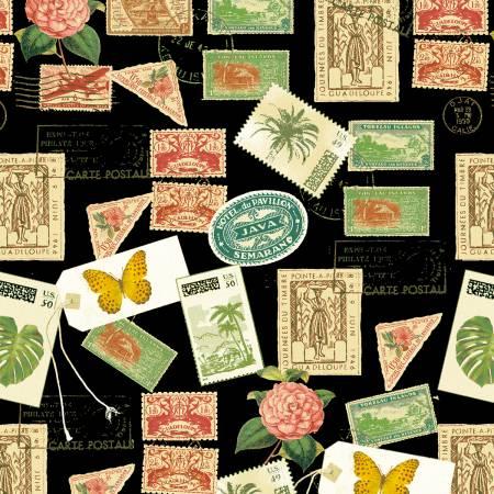 Black Postage Stamps