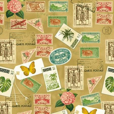 Tan Postage Stamps