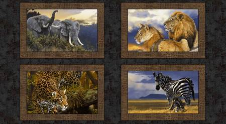 Go Wild Multi Scenic Panel 24in