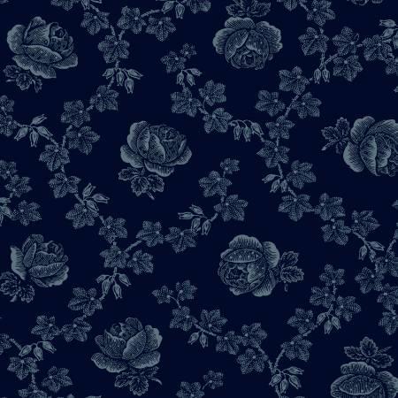 Windham - Abigal Blue - Blue Trellis Rose