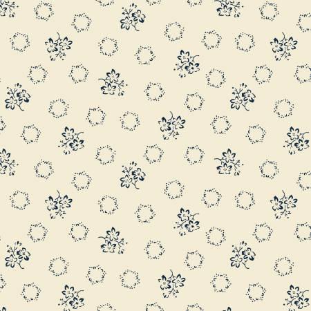 Cream Geo Floral