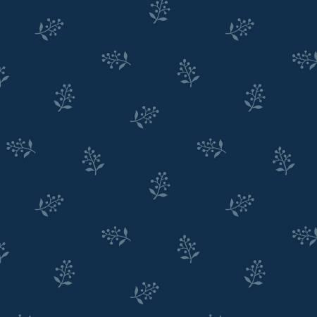 Blue Flower Sprig