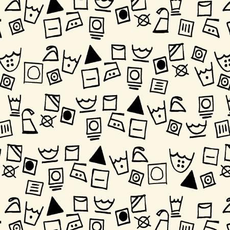 Dirty Laundry - Linen Washing Symbols