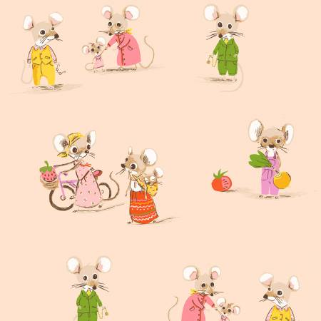 2885 Blush Country & City Mouse - Trixie