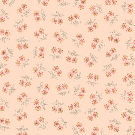 Blythe-Flower Pairs-Apricot