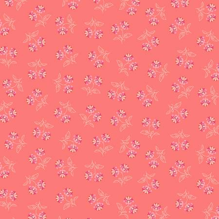 Blythe-Flower Pairs-Coral