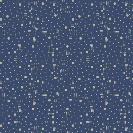 Cunningham Blue Dot Geo Reproduction Print 51044-1