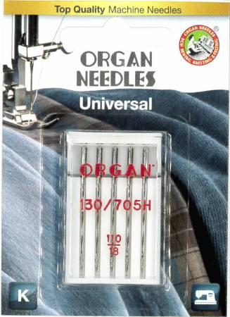 Organ Microtex Asst sizes - 5 pk