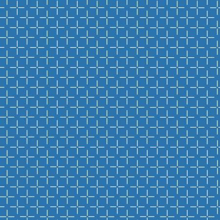 Windham Bounce Blue Grid