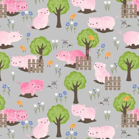 Grey Piggy Scene