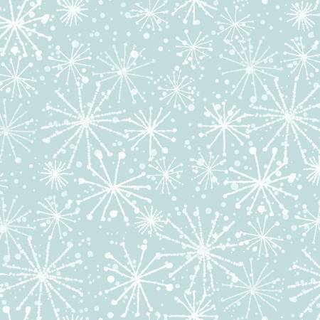 Light Blue Snowflakes 51156-4