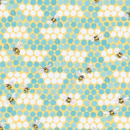 My Imagination-Bees Aqua