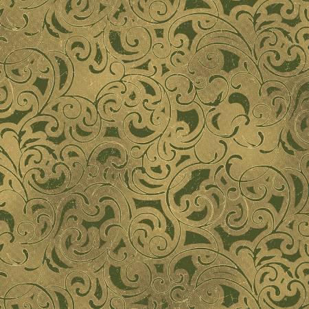 Scroll Green w/Metallic