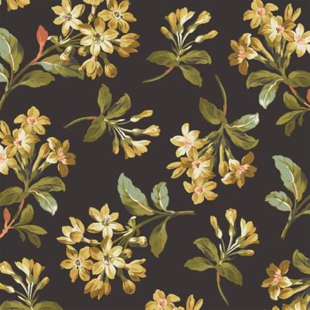 Tara 51233-1 Black Floral Spray