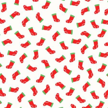 White Christmas Stockings