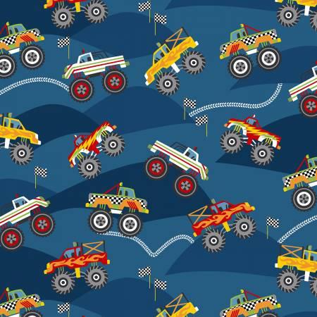 Monster Truck Champs Blue