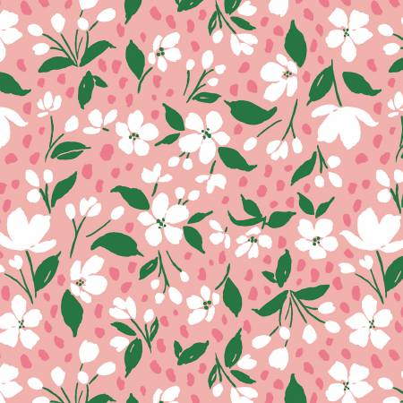 Pink Lemonade Light Pink Mini Floral 51323-4