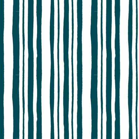 Pink Lemonade Stripe Teal 51327-1