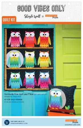 Hootsville Quilt + Pillow Quilt Kit