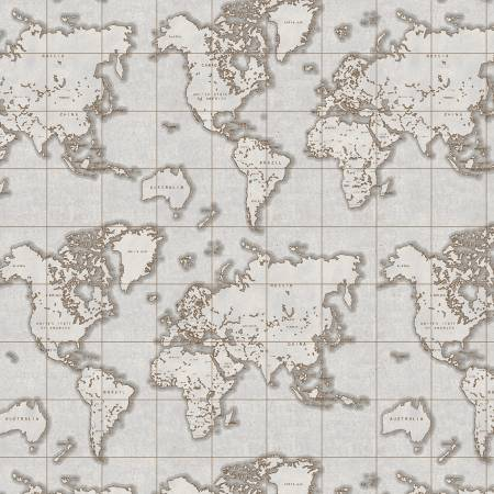 Seven Seas Gray Maps