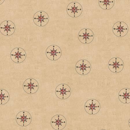 Seven Seas - Compasses Almond