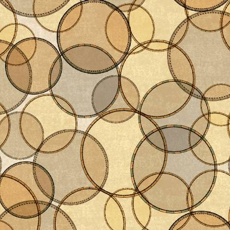 Seven Seas Interlocking Rings Almond