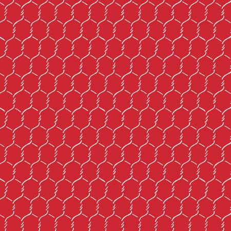 OINK A DOODLE RED CHICKEN WIRE 30527