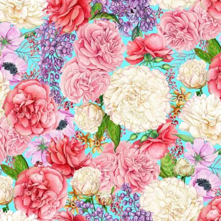 Multi Lilacs & Peonies - Love Letters