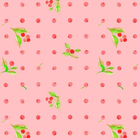Love Letters - Rose Flower Dot - by Shannon Christensen for Windham Fabrics