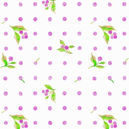 Love Letters-Lilac Flower Dot