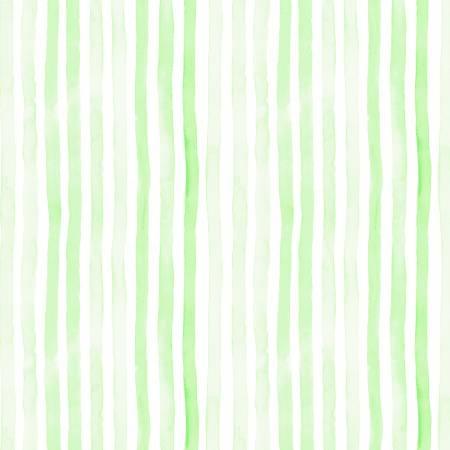 Apple Watercolor Stripe