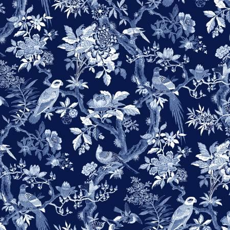 Navy Blue Aviary