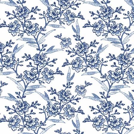 Porcelain Floral Spray