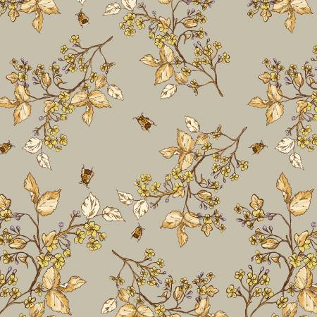 Tell the Bees 51434-2 Grey