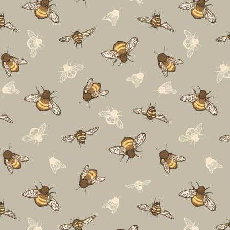 Grey The Bumbles Bee