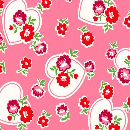 Lotus Hearts & Flowers