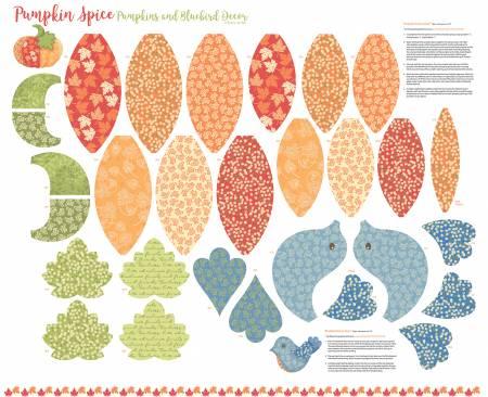 Pumpkin Spice Bird Panel