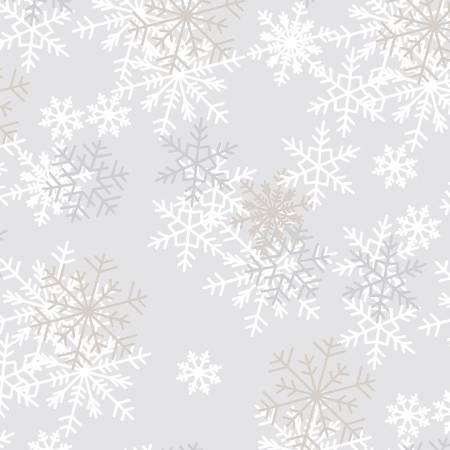 108 Light Grey Snowflakes