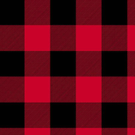 Red Buffalo Plaid 108in Wide Back