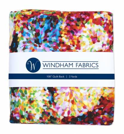 3 Yard Precuts, Impressionist Floral, 108 Wide Quilt Back