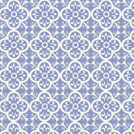 Bungalow Periwinkle Vintage Tile 51471-7