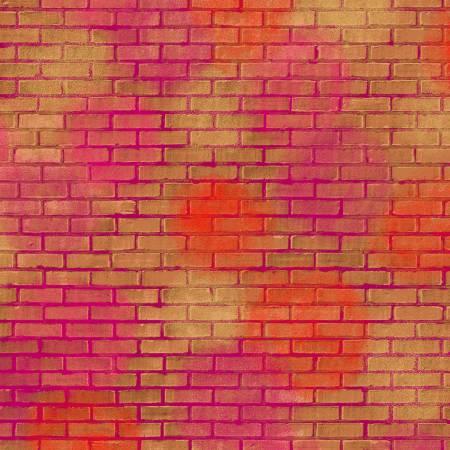 Unstoppable: Painted Brick Orange