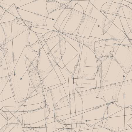 Tan Paper Patterns 51510-1